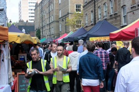 Keeping London's hungry punters well-fed ain't an easy job